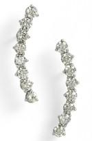 Nadri Women's Salome East West Crystal Ear Crawlers
