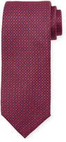 Neiman Marcus Neat Silk Tie, Red