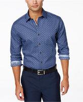Tasso Elba Men's Print Long-Sleeve Shirt, Only at Macy's