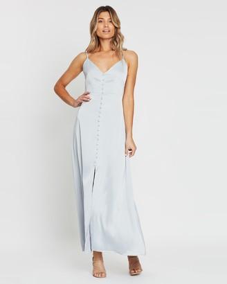 Atmos & Here Diane Split Front Maxi Dress