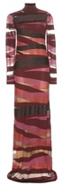 Emilio Pucci Wool-blend Maxi Dress