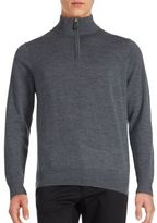Tailorbyrd Heathered Long Sleeve Sweater