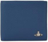 Vivienne Westwood Slate Blue Leather Wallet