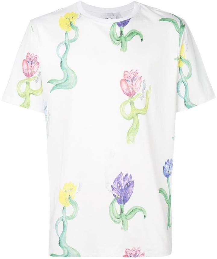 Soulland プリント Tシャツ