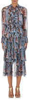 Zimmermann Women's Winsome Tiered Midi-Dress-LIGHT BLUE