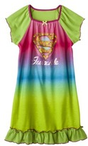 Supergirl Girl's Short-Sleeve Nightgown