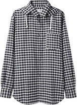 Comme des Garcons Hooded Check Shirt
