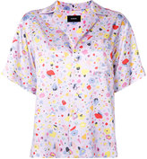 G.V.G.V. satin shortsleeved shirt - women - Rayon - 34