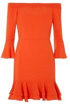 Topshop Frill Bardot Dress