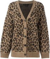 Alexander Wang leopard print cardigan - women - Cashmere/Wool - XS