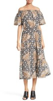 A.L.C. Women's Doris Print Off The Shoulder Dress