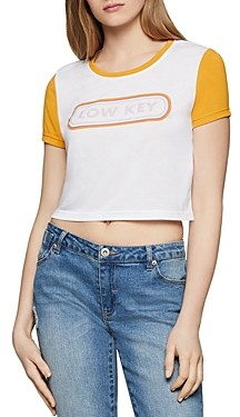 BCBGeneration Low Key Cropped Tee