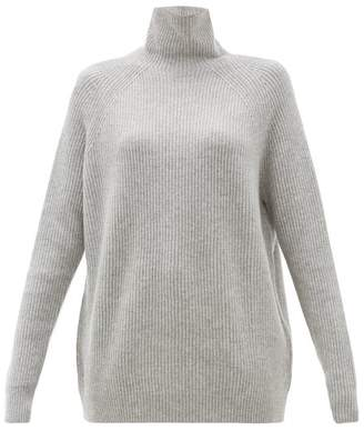 Max Mara Disco Sweater - Womens - Light Grey