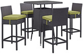 Modway Convene 5 Piece Bar Set