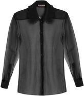 Rochas Sigaline silk-organza shirt