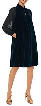 Hobbs London Faye Velvet Dress