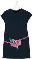 Little Marc Jacobs trompe l'oeil T-shirt dress
