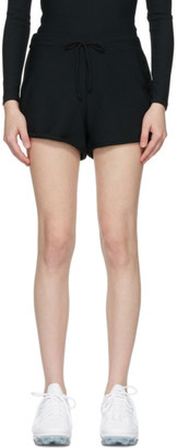 Gil Rodriguez SSENSE Exclusive Black Thermal Leisure Shorts