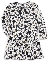 Molo Infant Girl's Cammon Popcorn Print Dress