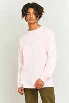 Obey Propaganda Long Sleeve Pink T-shirt
