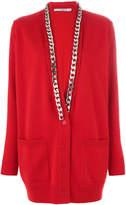 Givenchy chain trim cardigan