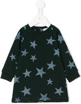 Stella McCartney metallic star print sweatshirt dress
