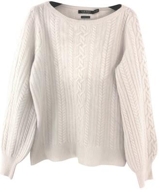 Lauren Ralph Lauren Beige Wool Knitwear for Women