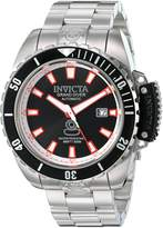 Invicta Men's 'Pro Diver' Stainless Steel Automatic Watch, Silver-Toned (Model: 21785)