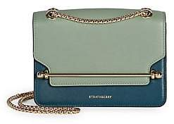 Strathberry Women's Mini East/West Tri-Color Leather Shoulder Bag
