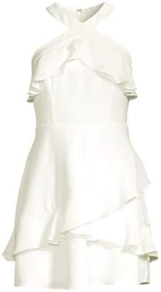 Parker Rikki Mini Ruffle Dress