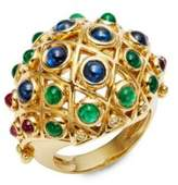 Temple St. Clair CL Color 18K Yellow Gold Cabochon Statement Ring