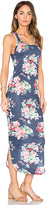 C&C California Sophia Racerback Midi Dress in Navy. - size XS (also in )