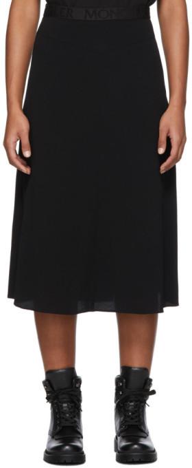 Moncler Black Box-Pleat Skirt