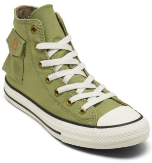 Converse Little Boy's Camp Outta Pocket High Top Casual Sneakers from Finish Line