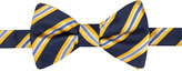 Countess Mara Men's Eugene Reversible Stripe Dot Pre-Tied Bow Tie