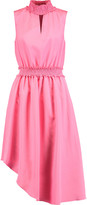 Raoul Sarila smocked satin dress