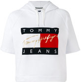 Tommy Jeans cropped hoodie - women - Cotton - XS