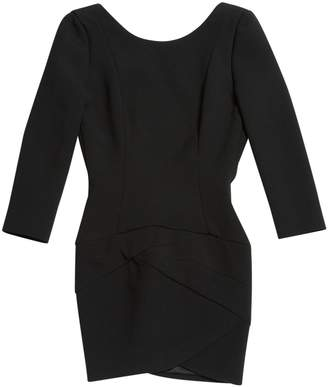 Jay Ahr Black Wool Dresses