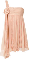 DSQUARED2 pleated chiffon Diana dress