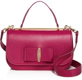 Salvatore Ferragamo Linda Leather Satchel