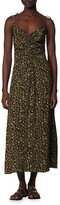 Thumbnail for your product : Sandro Carolina Floral Ruched Midi Dress