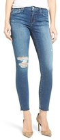 Joe's Jeans Women's Flawless Icon Ripped Ankle Skinny Jeans