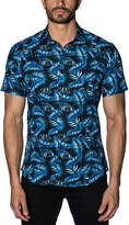 Jared Lang Trim Fit Woven Shirt