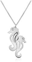 Forzieri Diamond & 18K Gold Seahorses Pendant Necklace