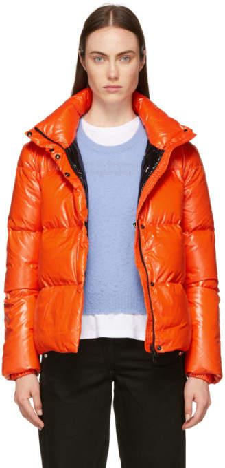 Duvetica Orange Alane Down Jacket