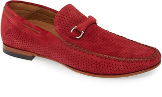 Mezlan Marcello Perforated Bit Loafer