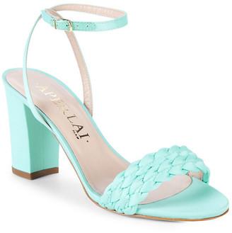 Aperlaï Braided Heel Sandal