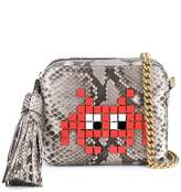 Anya Hindmarch Python Space Invaders cross body bag