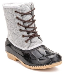 OLIVIA MILLER Women's Rain Duck Boots Women's Shoes