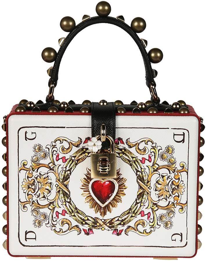 Dolce & Gabbana Dolce Gabbana Printed Shoulder Bag